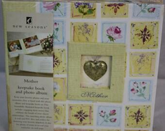 New Seasons Mother Keepsakd Book & Photo Album Yellow
