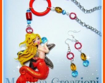 Set Mermaid Fairy ooak