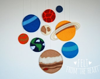 Solar System Wall Decor