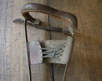 Leg Brace Medical Caliper Calliper Steampunk Orthotic Polio Orthopedics Curiosity