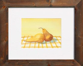 Wash Cloth Kitchen Pears     W006