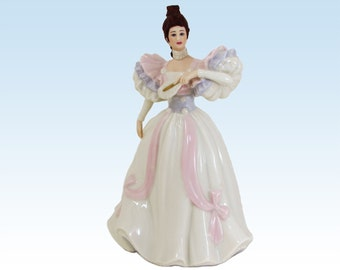 Lenox Ivory First Waltz Figurine Gala Fashions Fine Porcelain Statue Retired