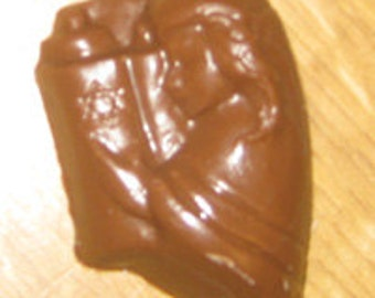 Bat Mitzvah Girl With Torah Bite Size Chocolate Mold