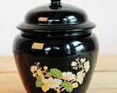 Magnifique vase avec couv...