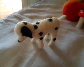 Needle Felted Dalmation