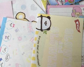 10 Mini Memo Sheets + 15 Sticker Flakes