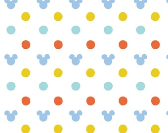 Disney Fabric Mickey Mouse Baby Heads Fabric From Springs Creative