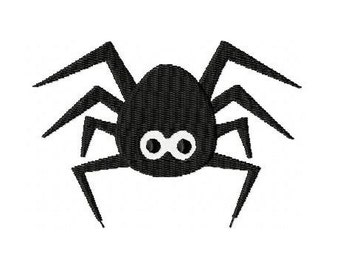 Embroidery Design Spider 4'x4' - DIGITAL DOWNLOAD PRODUCT
