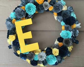 Rolled Flower Wreath