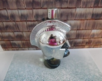Avon~ Vintage Roman Soldier collector bottle, with much of the product in the bottle