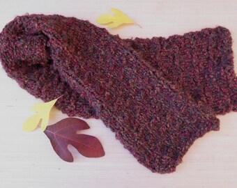 Warm Chunky Scarf, Bulky Scarf, Autumn Scarf | Hand Knit