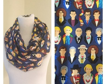Doctor Who Scarf- now available in regular and infinity!
