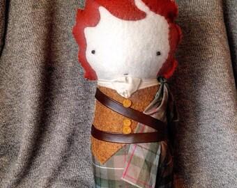 Jamie Fraser - OUTLANDER Plush Doll