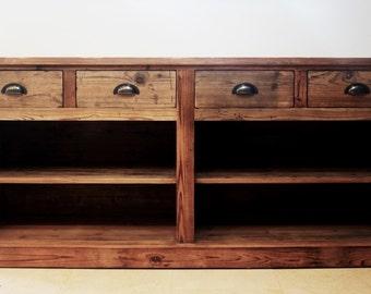 Beautiful reclaimed wood sideboard