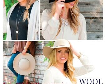 Wool Floppy Hats