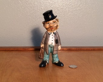 Lipper and Mann Figurine - Door to Door Salesman - Drifter - Hobbo