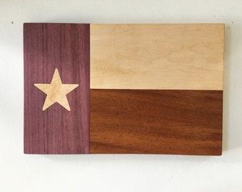 Texas Flag cutting board, Wooden cutting Board, Chopping Board, Serving Board, Serving Tray/Platter, Butcher Block **FREE SHIPPING**