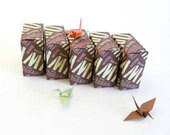 5 Origami favour boxes, Tagcloud