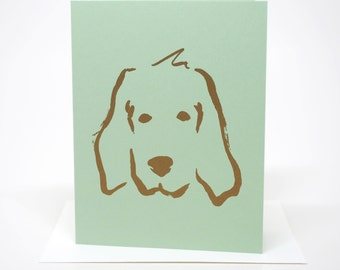 Dog, Greeting Card