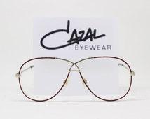 Cazal glasses, MOD 728, made in West Germany, designer eyewear, original 80s spectacles, vintage eyeglasses