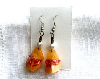 Origami Earrings - Baby Shoes