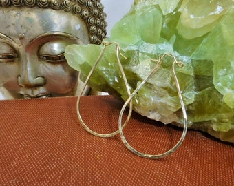 14k Gold Filled Articulated Hinge Hoops
