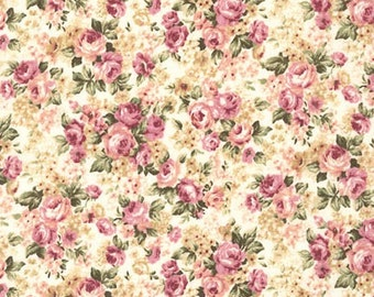 Emma 2- Packed Bouquet/Petal by Robert Kaufman - Cotton Fabric Fast Shipping F667