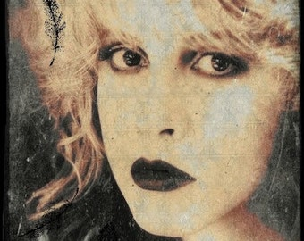 STEVIE NICKS ART Giclee Print Witchy Rock Goddess Gothic Vintage Bohemian Gypsy Bohemian