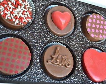 Valentine's Day Chocolate Covered Oreos Gift Box - Valentine's Day Chocolate - Valentines Day Candy -Valentines Day Gift - Love - Oreo
