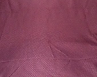 Dark Burgundy Wine Tablecloth Vintage 118 x 59 Vintage As is Table Linen