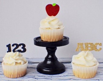 Teacher Cupcake Topper