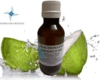 Fractionated Coconut Oil 100ml Carrier/Base Oil perfect for massage or aromatherapy