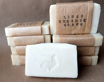 Cherry Almond with Shea Butter and Castor Oil - Organic Soap Bar