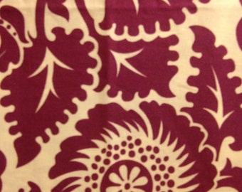 HEIRLOOM by Joel Dewberry - Fabric -  Blockprint Blossom in Amethyst - Quilting - Sewing - Home Decor - Free Spirit - Westminster