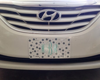 Personalized front plate