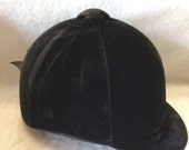 Lexington Safety Products jockey riders hat velvet helmet. Size 7/8. Free ship to US.