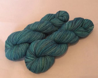 BFL High Twist Sock - Ocean