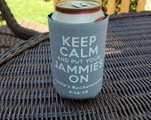 Custom Can Coolies - Bachelorette Party - Best Quality Available - Neoprene and Stretch Vinyl (1-11 Pieces)