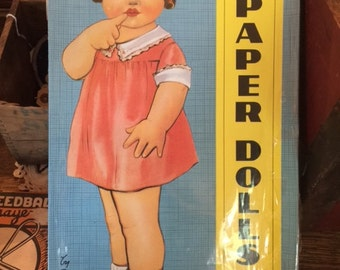 Vintage, Four Cut Out, Paper Dolls, With Wardrobe, By Queen Holden, Unopened, Mint