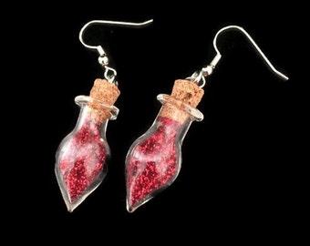 Christmas Light Earrings, Light Bulb Earrings, Christmas Earrings