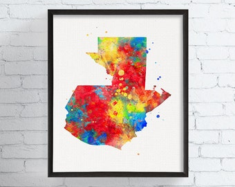 Tennessee State Art Tennessee Map Watercolor Map Tennessee