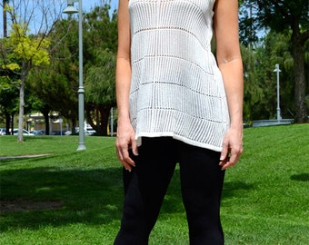 Krizta & Co. - Women's sleeveless sweater top