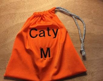 Orange Gymnastics Grip Bag