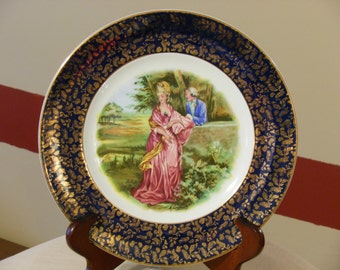 Wood & Sons Burslem Alpine White Victorian Plate