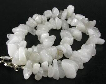 "Genuine Azeztulite Necklace from North Carolina - 18"""