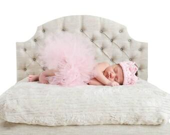 Newborn Photo Prop Tufted Bed!