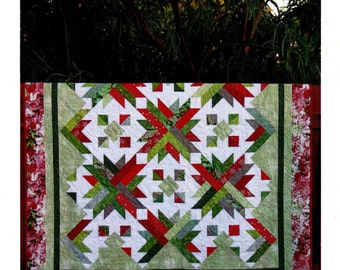 """PRICKLY PEAR    A Strip Club Quilt Pattern For 2-1/2"""" Strips   By: Cozy Quilt Designs"""
