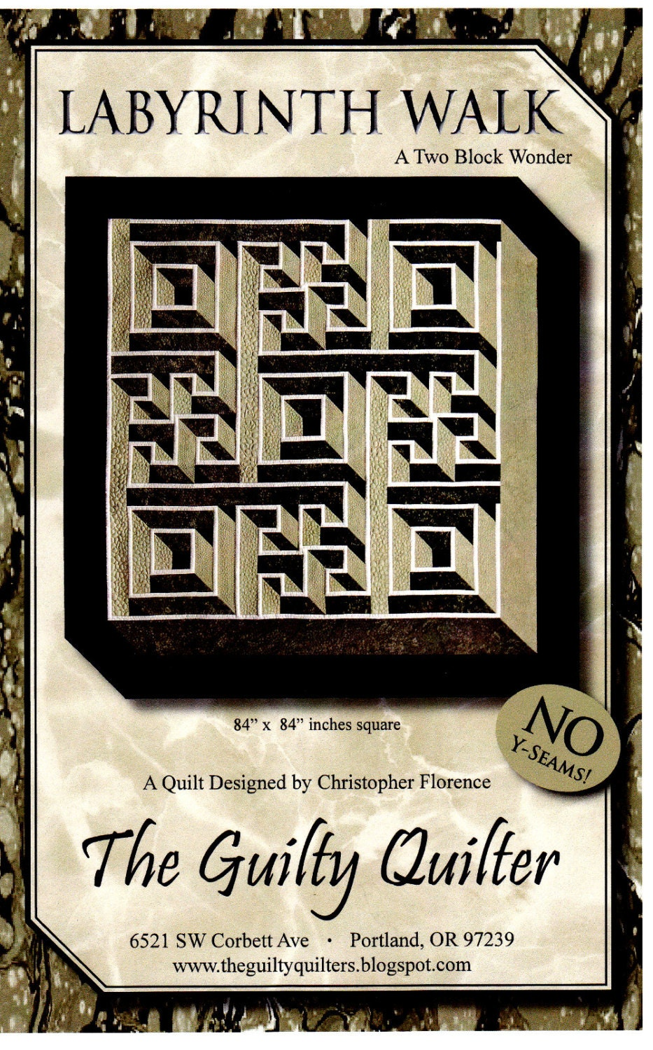 Labyrinth Walk Quilt By Christopher Florence Aka The
