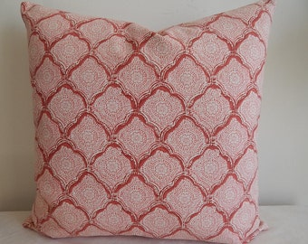 Designer pillow cover,throw pillow,decorative pillow.accent pillow,same fabric front and back.