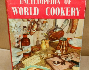 Encyclopedia of World Cookery by Elizabeth Campbell - Vintage 1950s Cookbook